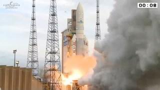 Ariane 5 flight VA225 liftoff