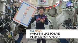#AskNASA with Christina Koch┃ What's it like to live in space for a year?