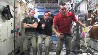 Space Station Hosts First Hangout
