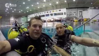 SCUBA diving in the NBL