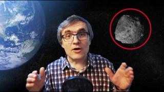 Asteroid recoltat in apropierea pământului