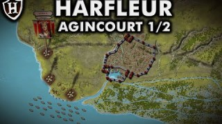 Siege of Harfleur, 1415 AD ⚔️ Battle of Agincourt (Part 1 / 2) ⚔️ A Baptism of Fire