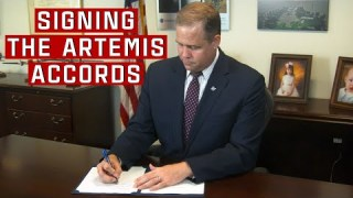NASA and International Partners Sign Artemis Accords