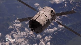ATV-4's 6 million km voyage to the International Space Station