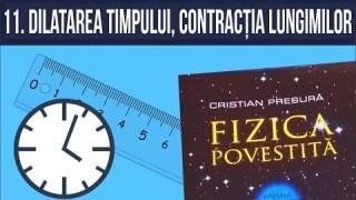 #fizicapovestita 11. Dilatarea timpului și contracția lungimilor