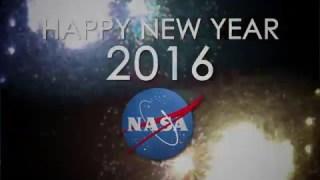 Happy New Year 2016 from NASA