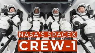 Nov. 14, 2020: Astronauts to Launch on NASA and SpaceX Crew-1 Mission