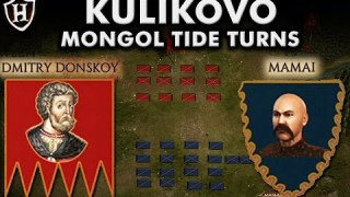 Battle of Kulikovo, 1380 AD ⚔️ Mongol tide turns ⚔️ Russia rises