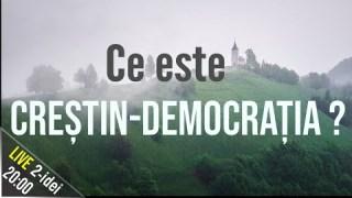 #2i 📘 Ce este creștin-democrația?  Ep.18 Invitat: Teodor Baconschi