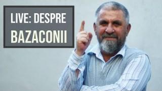 LIVE: Despre bazaconii, cu Cristian Român
