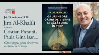 Interviu cu Jim Al Khalili: găuri negre, găuri de vierme și călătoria în timp