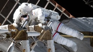 Spacewalk at the International Space Station