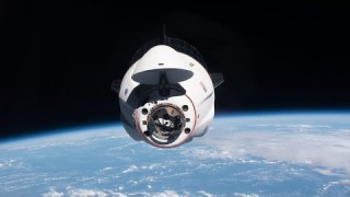 SpaceX Crew Dragon Relocates at the International Space Station