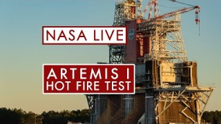 NASA's Second Hot Fire Test for the Artemis Moon Rocket