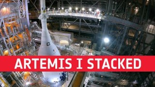 Artemis I stacked