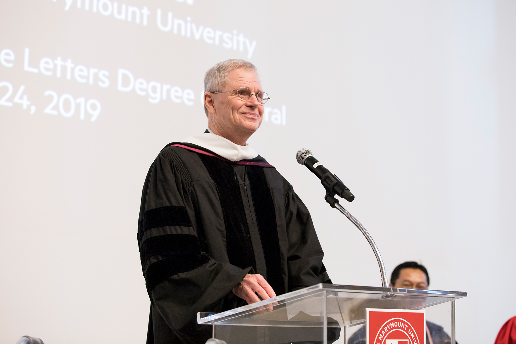 Rev. Robert B. Lawton, S.J., Receives Honorary LMU Degree