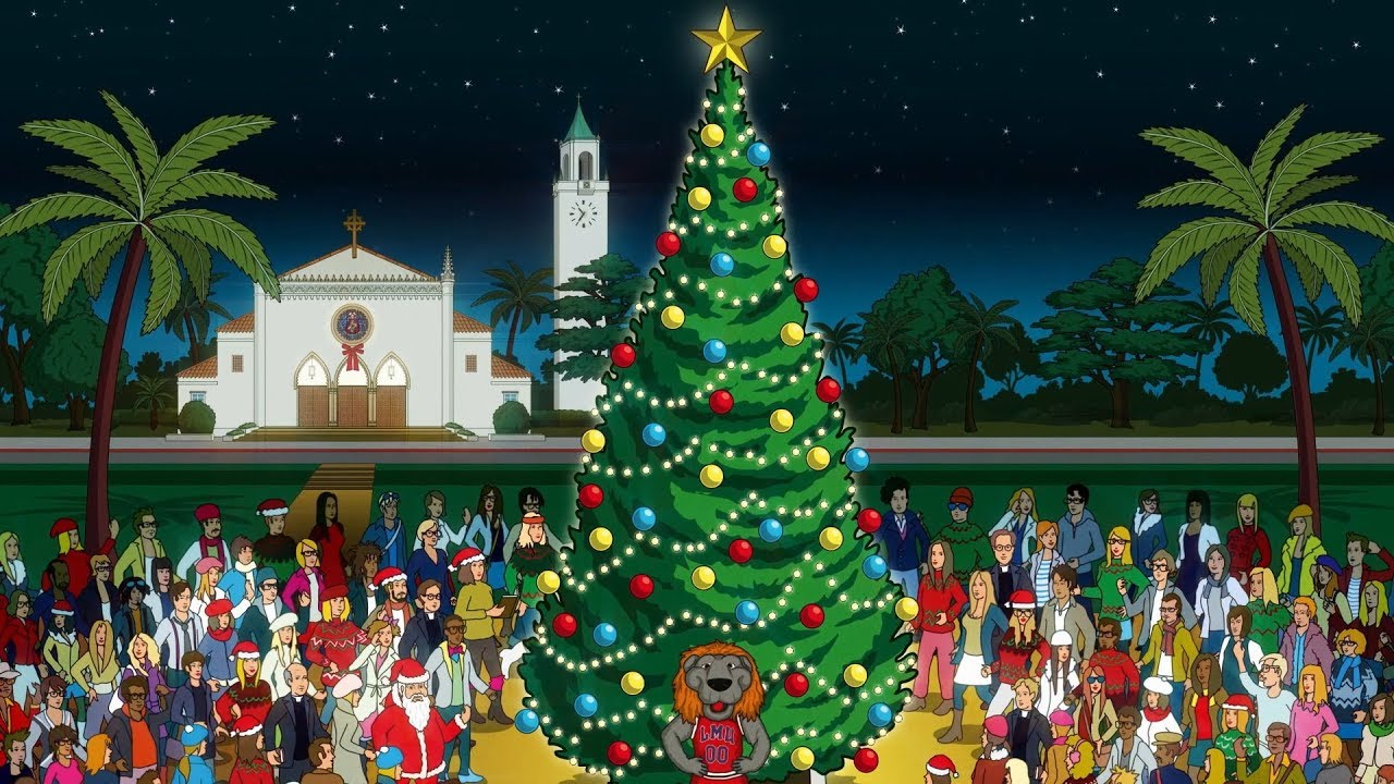 christmas greetings from lmu pre - Christmas Greetings from LMU President Timothy Law Snyder