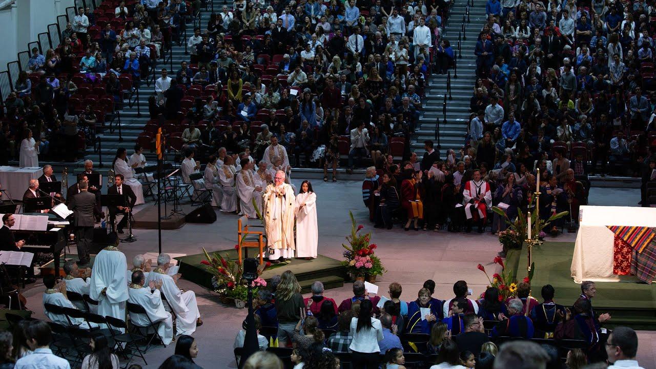 2019 Commencement Mass