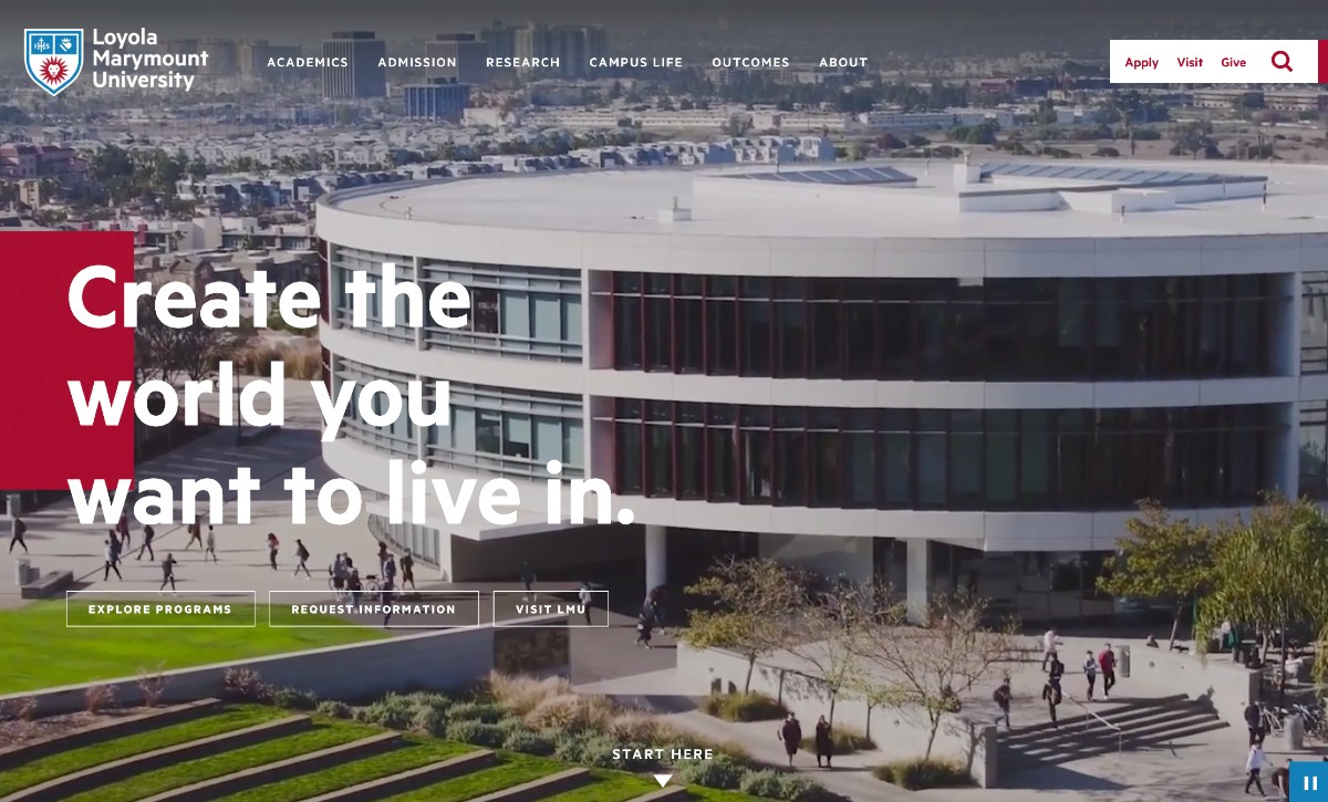 LMU 2020 HOME - Welcome to LMU.edu 2020!