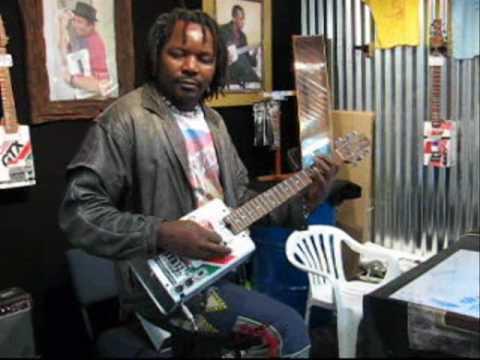 Gear: African Oil Can Guitar