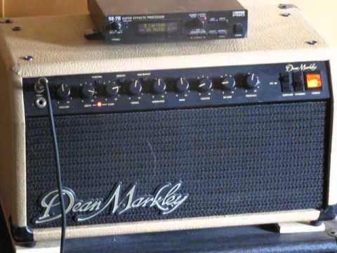 Gear: Dean Markley CD-60 Tube Amp