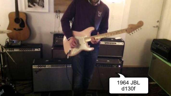 Gear: Fender Vibroverb 15″ speaker shootout