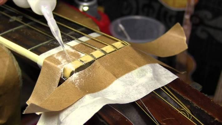 Gear: Guitar tech: baking soda and super glue trick