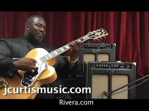 Gear: J. Curtis plays a Rivera Jazz Suprema 112
