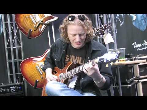 Gear: Two Rock Custom Reverb amp with Matt Schofield