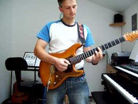 Jazzrocker: Slap Lesson for Guitar and Jam over it