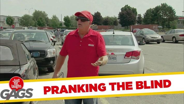 Misleading the Blind Prank