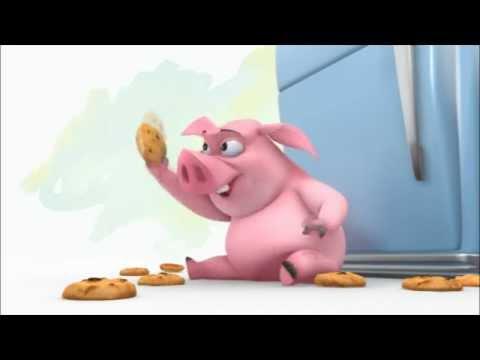 Ormie the Pig vs Cookie Jar