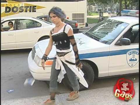 Police Cruiser Graffiti Hidden Camera Prank