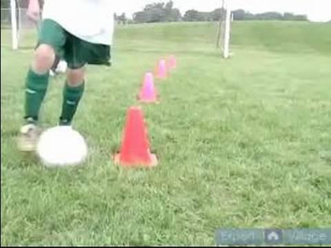 Youth Soccer Drills & Skills : Soccer Ball Dribbling Drills