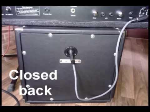 Gear: Closed back Vs Open back Vs Ported 1×10