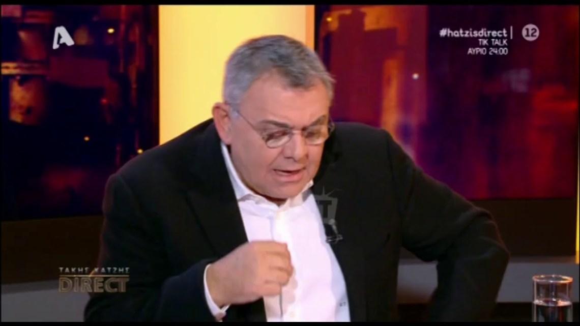 """Γιώργος Αγγελόπουλος: """"Δεν θα συμπαρουσίαζα το Survivor με τον Σάκη Τανιμανίδη"""""""