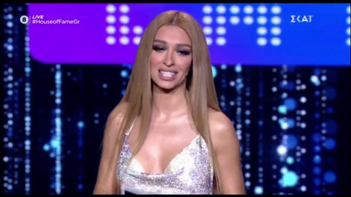 House of fame: Η εντυπωσιακή εμφάνιση από την Ελένη Φουρέιρα