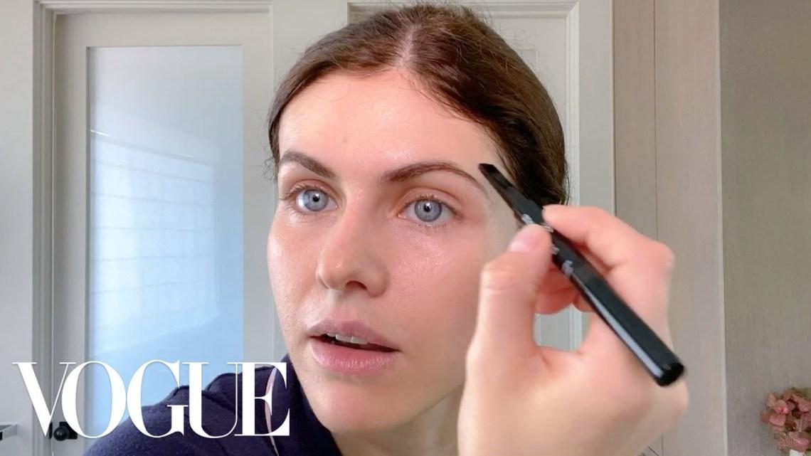 Alexandra Daddario's Guide to Face Masks & Easy, Everyday Makeup | Beauty Secrets | Vogue