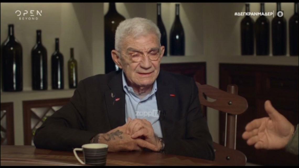 """Γιάννης Μπουτάρης: """"Δεν έχω πιει από το 1991 που έκανα το πρόγραμμα απεξάρτησης"""""""