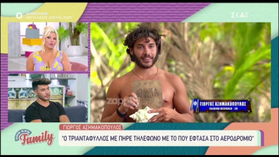 """Γιώργος Ασημακόπουλος: """"Ένιωθα τύψεις για το θεατρικό για τον Τριαντάφυλλο"""""""
