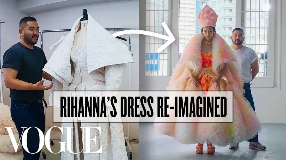 2 Designers Transform Each Other's Work (ft. John Galliano and Tomo Koizumi) | Vogue