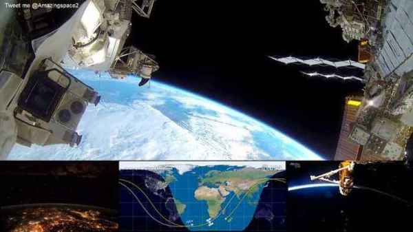 NASA Live - Earth From Space (HD Cams) ISS Live - One News ...