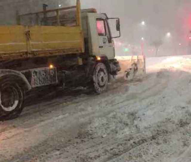 News Video Snow Too Deep For Plow