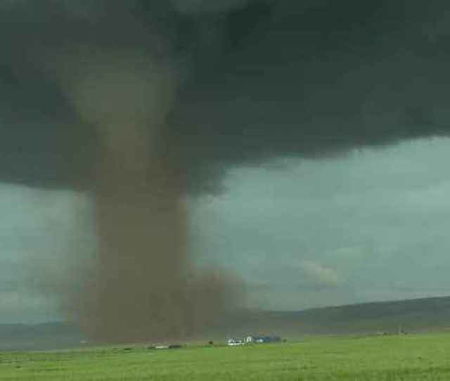 News Video Massive Tornado In Wyoming