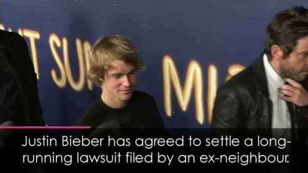 Justin Bieber to settle lawsuit filed by ex-neighbours ...