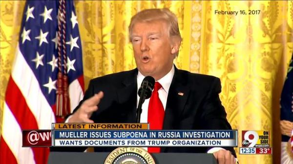 Mueller issues subpoena in Russia investigation - One News ...
