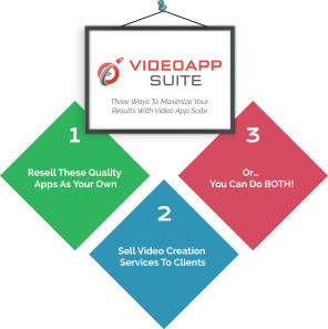 Video App Suite - 3 steps