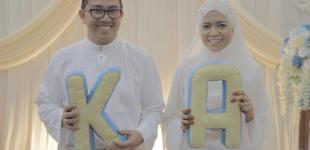 Azrul & Khairani : The Solemnization (SDE)