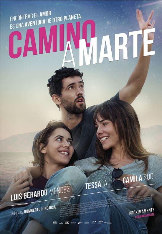 Póster de Camino A Marte (2017).