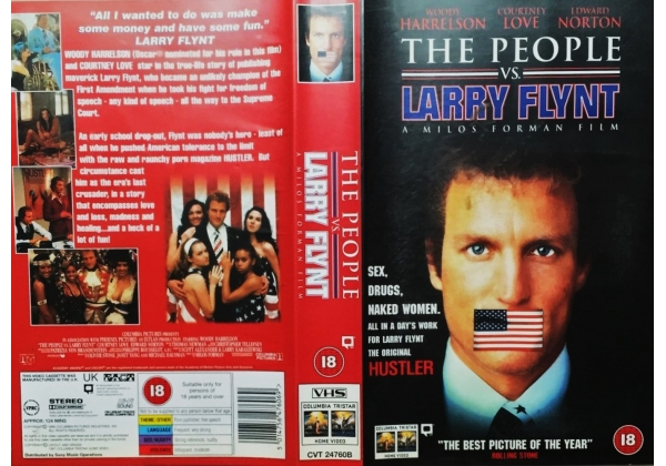 People Vs. Larry Flynt, The (1996)on Columbia/Tri-Star